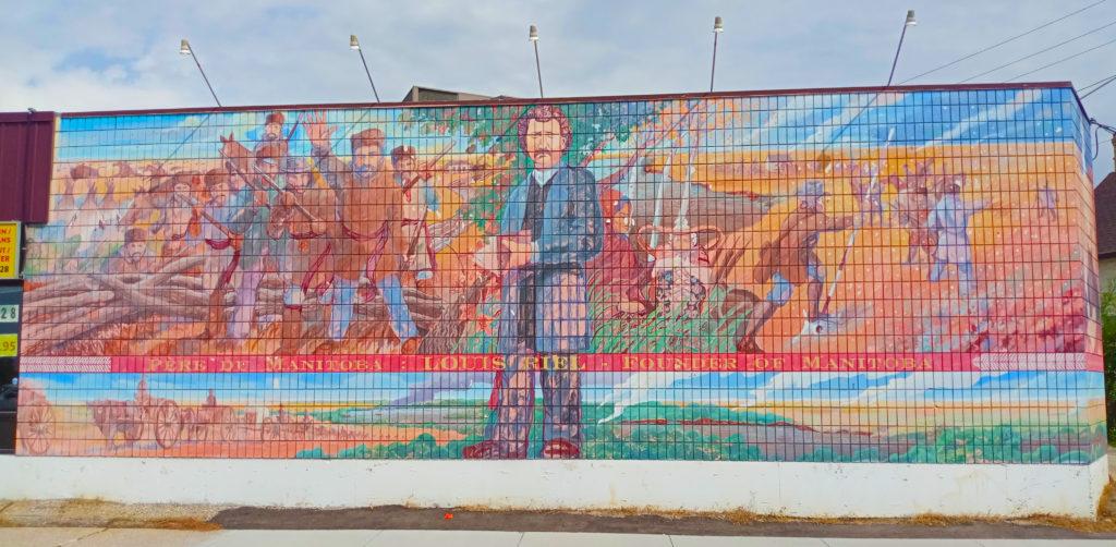 Riel Mural at Pembina and Eglise